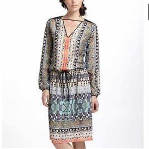 Clover Canyon Dress Anthropologie L Boho